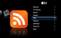 AppleTV RSS Plugin