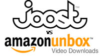 Joost vs Amazon Unbox