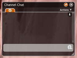 Joost chat room