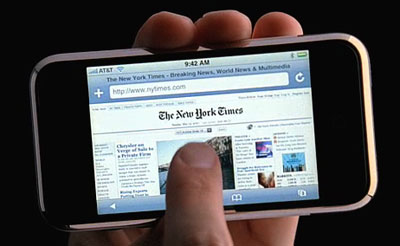 iPhone safari web browser