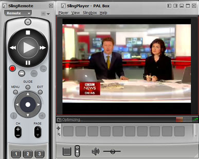 SlingPlayer software