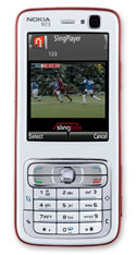 SlingPlayer on a Nokia phone