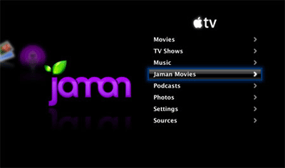 Jaman on AppleTV