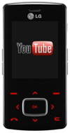 LG mobile partners with YouTube