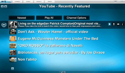 VeohTV programe guide