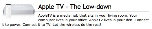 appletv lowdown
