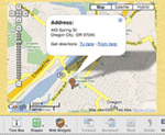 iWeb and google maps | apple google