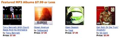 amazon mp3 albums