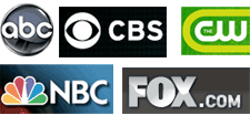 Internet streaming: five U.S. television networks compared