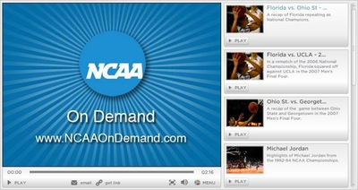 ncaa on demand