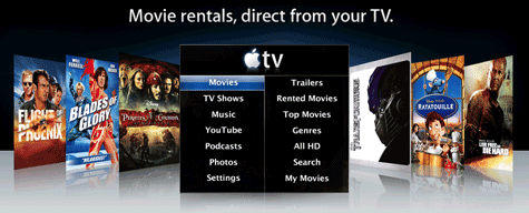 Movie rentals on iTunes
