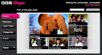 bbc iplayer home