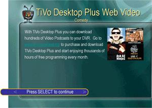 TiVo Desktop 2.6