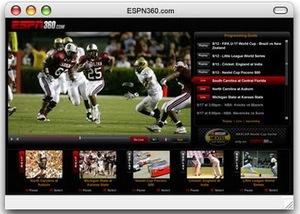 espn360 screen