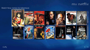Netfix lands on Windows Media Center