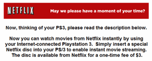 Netflix on PS3, XBox 360 - pipe dream or in the pipeline?