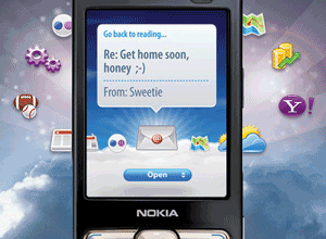 Yahoo on Nokia