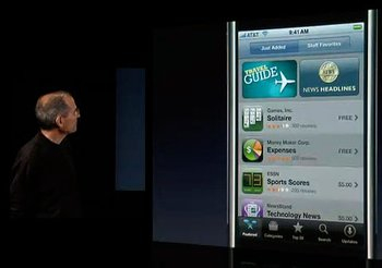 app store on iphone