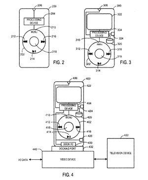 apple patent remote