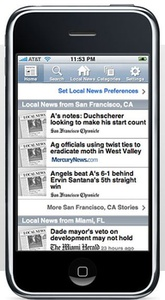 ap news on iphone