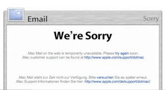 mac email down