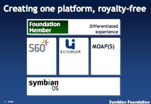 Symbian unified platform: UIQ, S60
