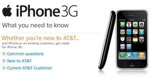 att iphone 3g