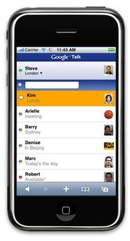 gtalk on iphone