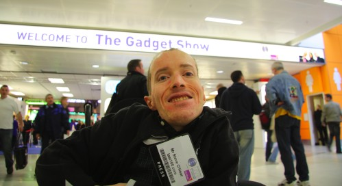 Steve at The Gadget Show Live