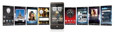 "HTC Hero's ""HTC Sense"" UI"