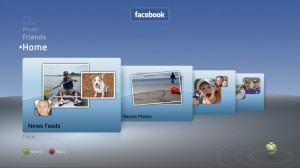 Facebook on XBox 360