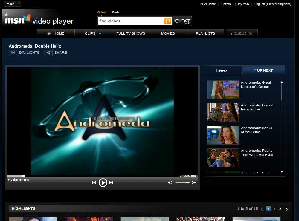Review: MSN Video Player mixes it up with classic TV, news ...