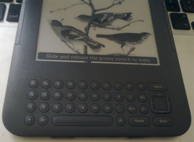 Quick review: Amazon Kindle 3 e-reader « last100